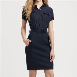 Burberry Brit Belted Dress